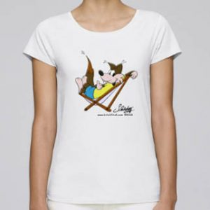 Damen T-Shirt mit obigem Motiv