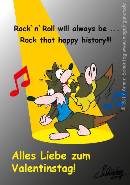 Tanzt Valentines-Rock'n'Roll mit Euren Lieben!